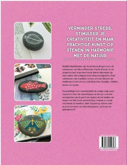 Stippen op stenen : creëer meer dan 40 mandala's en ontwerpen uit de natuur