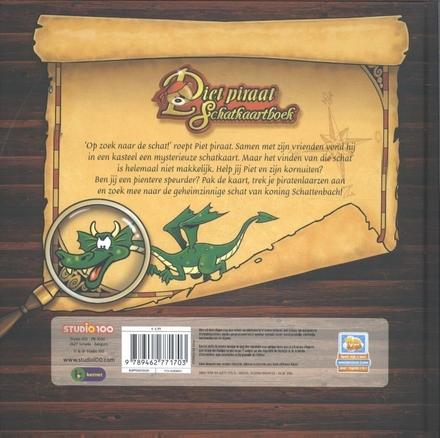 Piet Piraat schatkaartboek