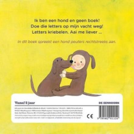 Ik ben geen boek, ik ben een hond