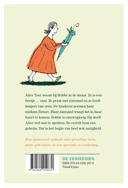 Het wonderlijke verhaal van Alice Toet