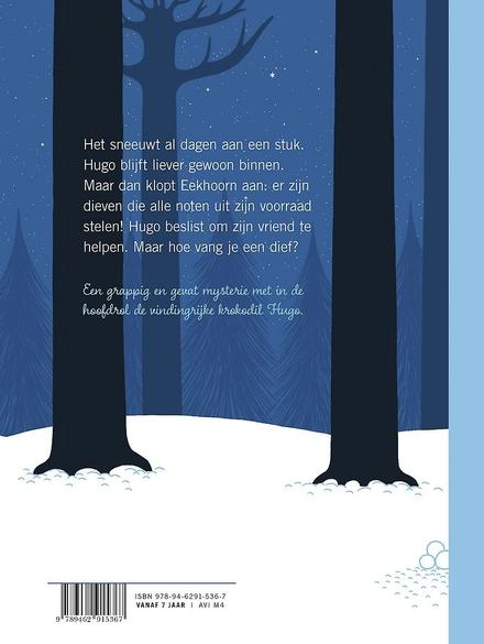 Dieven in de sneeuw