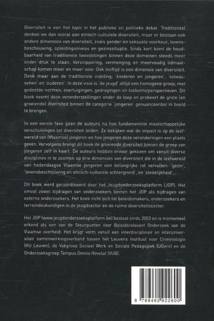 Divers jong : over diversiteit bij en tussen jongeren in Vlaanderen
