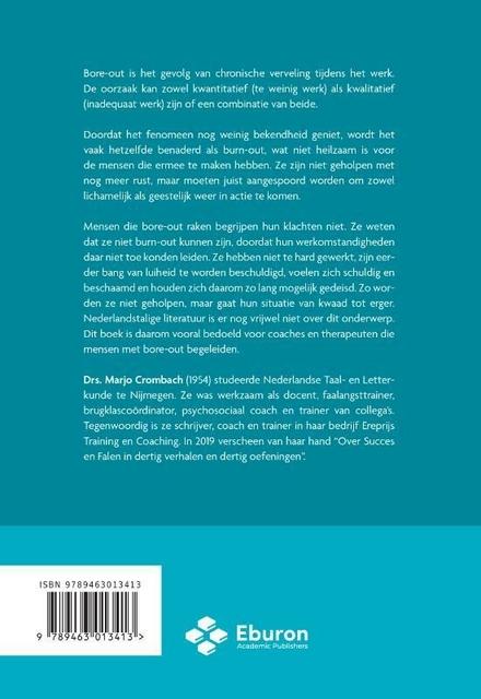 Bore-out : een praktische handleiding voor begeleiders