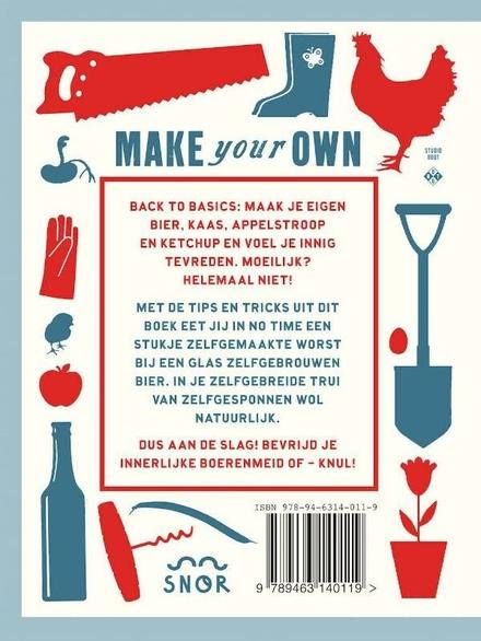 Make your own : van je eigen trui tot je eigen bier