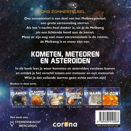 Kometen, meteoren en asteroïden