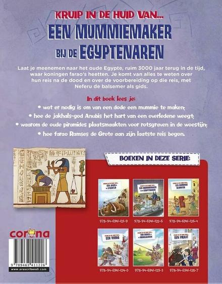 Een mummiemaker bij de Egyptenaren