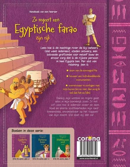 Zo regeert een Egyptische farao zijn rijk