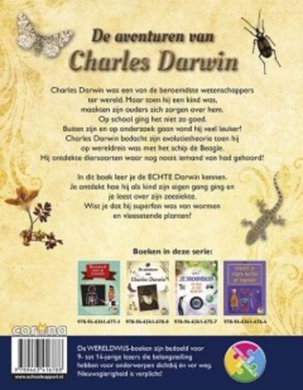 De avonturen van Charles Darwin