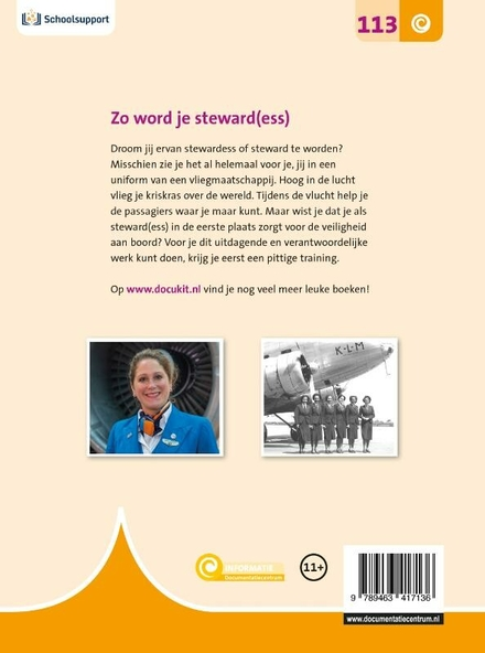 Zo word je steward(ess)