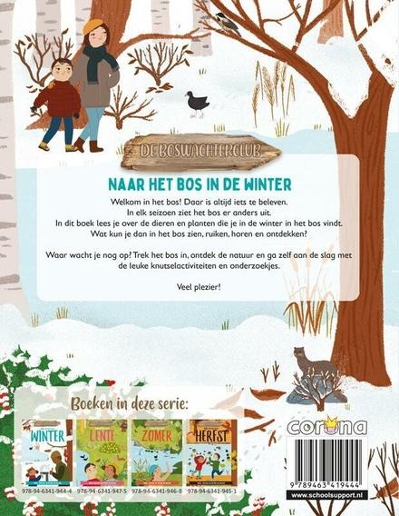 Naar het bos in de winter : speel, knutsel en ontdek de natuur