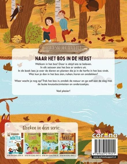 Naar het bos in de herfst : speel, knutsel en ontdek de natuur
