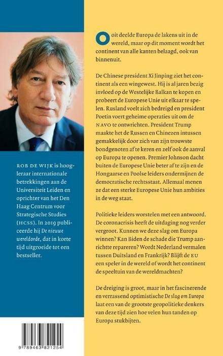 De slag om Europa : hoe China en Rusland ons continent uit elkaar spelen