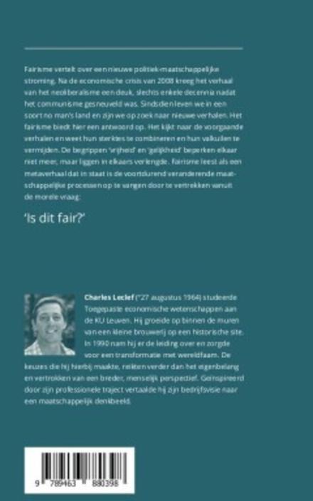 Fairisme : een eerlijke vorm van samenleven