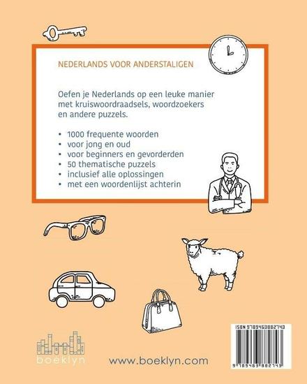 Nederlands oefenen : taalpuzzels met 1000 basiswoorden