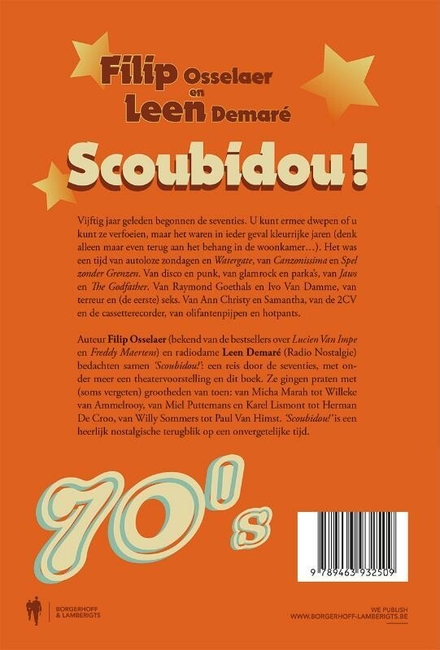 Filip Osselaer en Leen Demaré presenteren Scoubidou! : het boek van de 70's