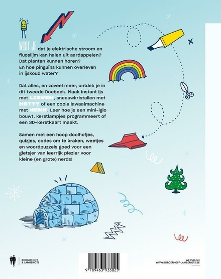 Doeboek voor kleine nerds. 2
