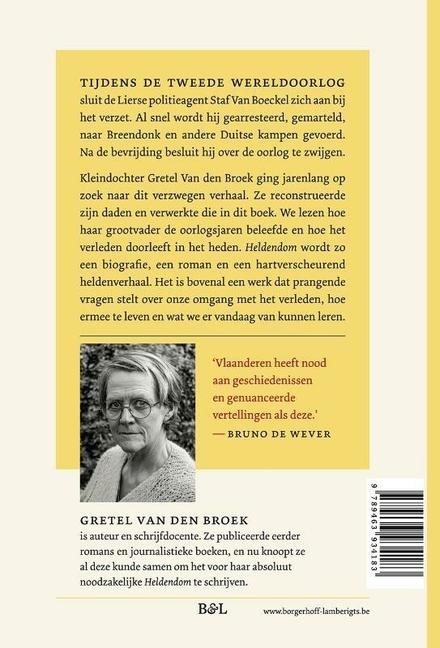 Heldendom : verzet en verraad : het verhaal van Staf Van Boeckel