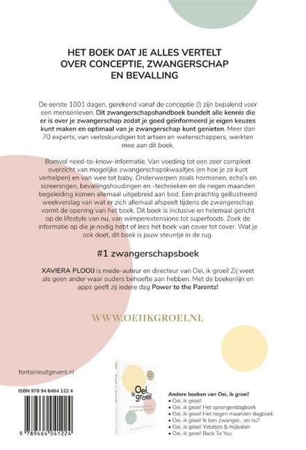 Hét zwangerschapshandboek : het boek dat je alles vertelt over conceptie, zwangerschap en bevalling!