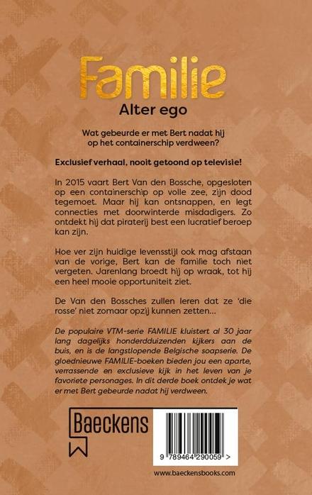 Alter ego : wat gebeurde er met Bert nadat hij op het containerschip verdween?