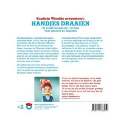 Kapitein Winokio presenteert : handjes draaien : 36 kinderliedjes- en versjes voor peuters en kleuters