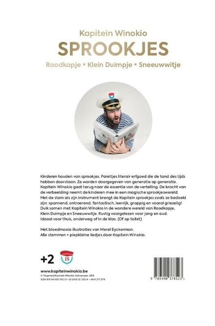 Sprookjes : Roodkapje, Klein Duimpje, Sneeuwwitje