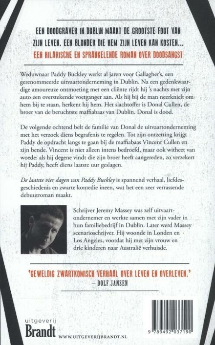De laatste vier dagen van Paddy Buckley