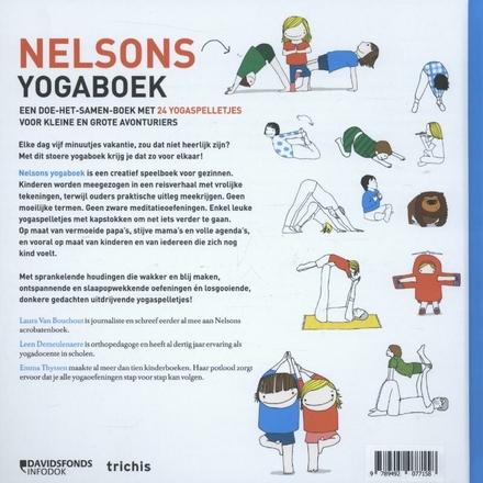Nelsons yogaboek : een doe-het-samen-boek met 24 yogaspelletjes voor kleine en grote avonturiers