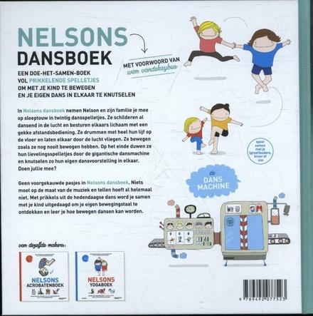 Nelsons dansboek : een doe-het-samen-boek vol prikkelende spelletjes om met je kind te bewegen en je eigen dans in ...