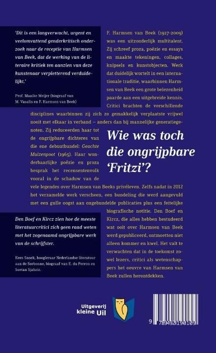 Onbegonnen werk : de ontvangst van het oeuvre van F. Harmsen van Beek, een casestudy