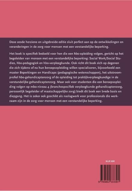 Mensen met een verstandelijke beperking : inzicht in begeleidings- en ondersteuningsvragen voor (toekomstige) profe...