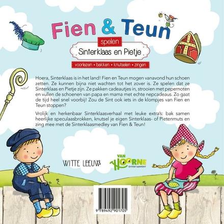 Fien & Teun spelen Sinterklaas en Pietje : voorlezen, bakken, knutselen, zingen